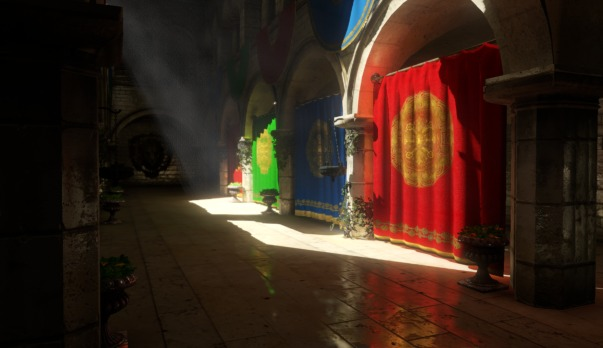 Specular reflections from Voxel Cone Tracing
