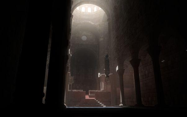Sibenik cathedral light bleeding error